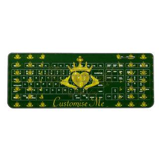 The Claddagh (Gold) Wireless Keyboard