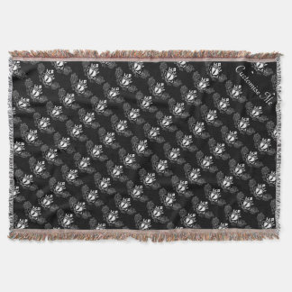 The Claddagh (White) Throw Blanket