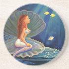 The Clamshell Mermaid - Coaster