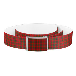 The Clan Steward Tartan Belt