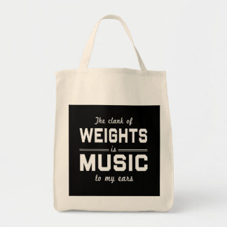The Clank of Weights Tote Bag