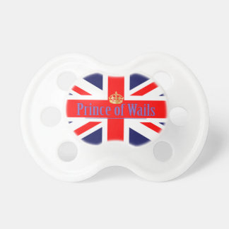 The Classic Union Jack and Prince of Wales (Wails) Pacifiers