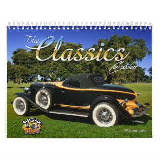 The Classics Car Calendar