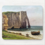 The Cliffs at Etretat, 1869 Mouse Pad