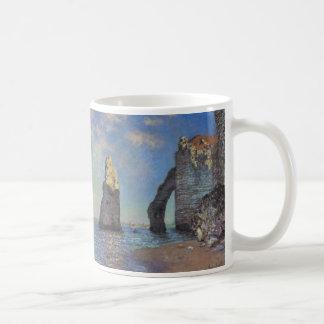 The Cliffs at Etretat Coffee Mug