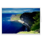 The Cliffs of Moher Card