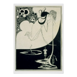 The Climax, illustration from 'Salome' by Oscar Wi Poster