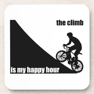 The Climb Is My Happy Hour Coaster