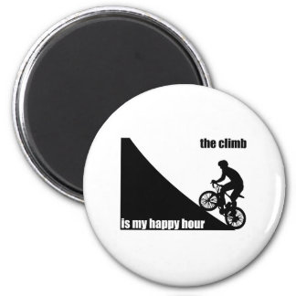The Climb Is My Happy Hour Magnet
