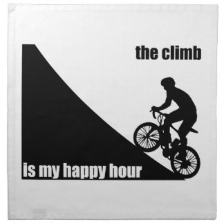 The Climb Is My Happy Hour Napkin