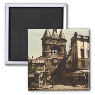 The Clock Gate, Bordeaux, France Magnet
