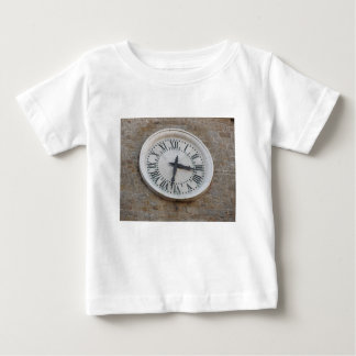 The clock on the facade of the Palazzo dei Priori Baby T-Shirt