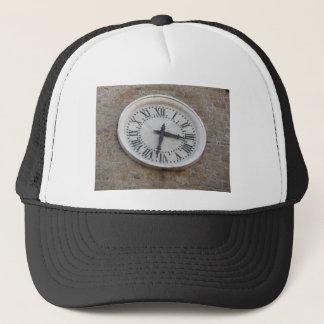 The clock on the facade of the Palazzo dei Priori Trucker Hat