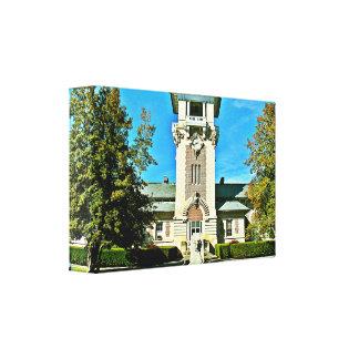 "The Clock Tower (16.50"" x 10.86"" x 2.5"") Canvas Print"