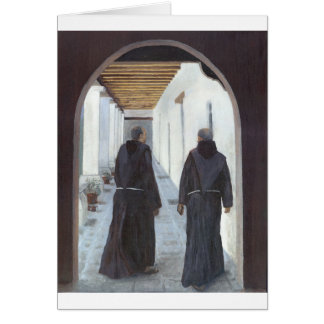 The Cloister Greeting Card