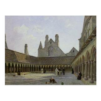 The Cloister of Mont Saint-Michel Postcard