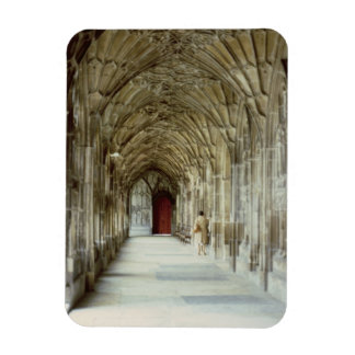 The Cloisters of Gloucester Cathedral, 12th centur Magnet