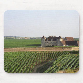 The Clos de Vougeot 16th century monastery and Mouse Pad