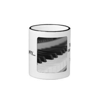 The closing your mouth is music to my ears ringer mug