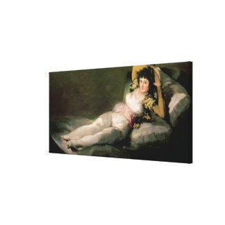 The Clothed Maja, c.1800 Canvas Print