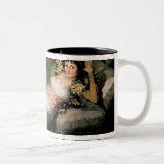 The Clothed Maja, c.1800 Two-Tone Coffee Mug