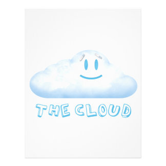 "The Cloud from ""The Bear, The Cloud, And God"" Customized Letterhead"