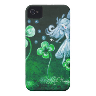 The Clover Faerie Of April Case-Mate iPhone 4 Cases