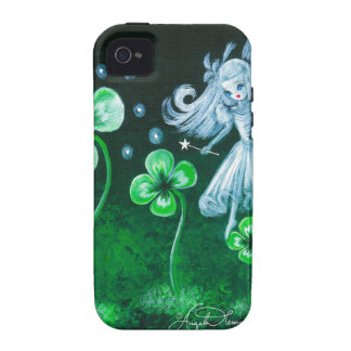 The Clover Faerie Of April iPhone 4 Case