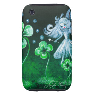 The Clover Faerie Of April Tough iPhone 3 Cover