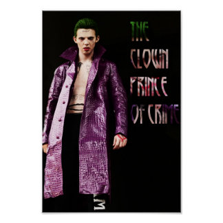 """The clown Prince Of Crime"" post offices Print -"