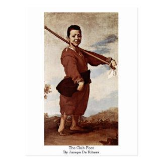 The Club-Foot By Jusepe De Ribera Postcard