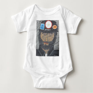 The Coal Man Baby Bodysuit