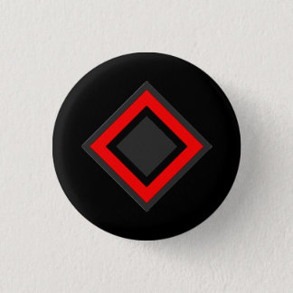 The Coats - Red Diamond Symbol 1 Inch Round Button