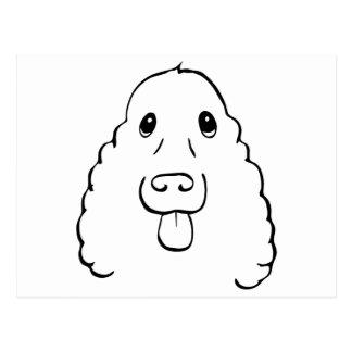 The Cocker Spaniel Postcard
