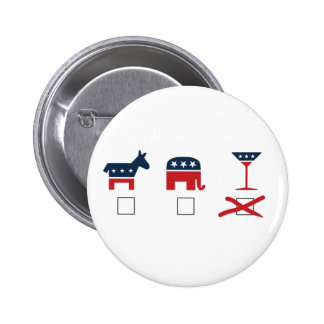 The Cocktail Party 2 Inch Round Button
