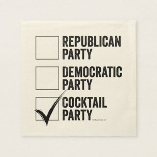 The Cocktail Party Napkin