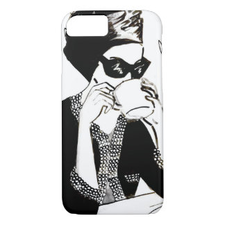 The Coffee Girl iPhone 7 Case