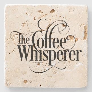 The Coffee Whisperer Stone Coaster