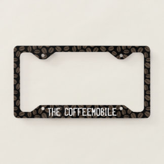 The Coffeemobile Coffee Lover's - Custom License Plate Frame