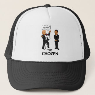 The Cohzen! Trump singing for Obama Trucker Hat