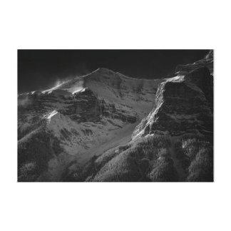 The cold mountain canvas print