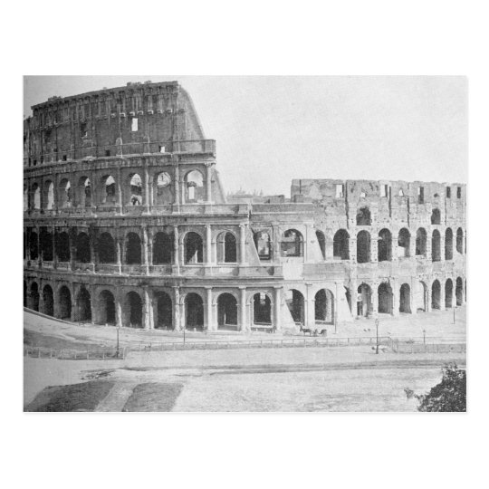 The Colliseum in Rome, ca. 1890 Postcard