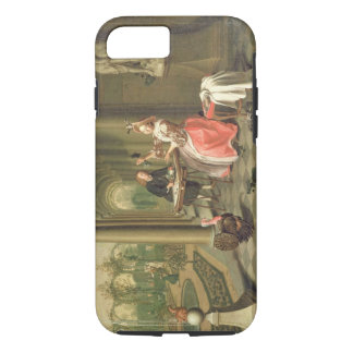 The Colonnade of a Country House with a Lady seate iPhone 7 Case