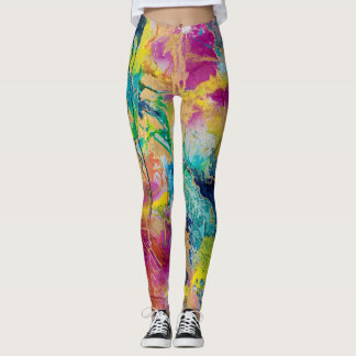 """""""The Color Of Joy"""" Leggings by MaryLea Harris"""