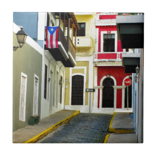 the color of old San Juan Puerto Rico Tile