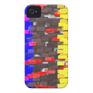 The Colored Building Blocks iPhone 4 Case