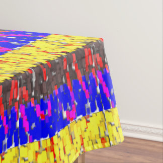 The Colored Building Blocks Tablecloth