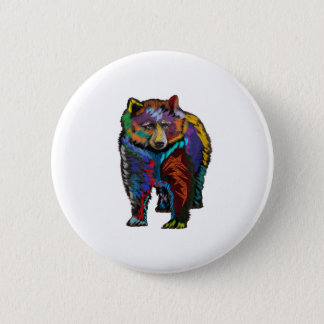 THE COLORFUL SHOW 2 INCH ROUND BUTTON
