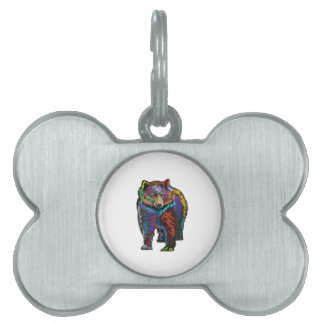 THE COLORFUL SHOW PET NAME TAG