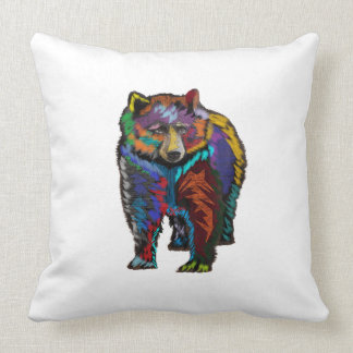 THE COLORFUL SHOW THROW PILLOW